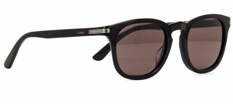 Cartier Brown Square Men's Sunglasses CT0011S-4-51 CT0011S-4-51