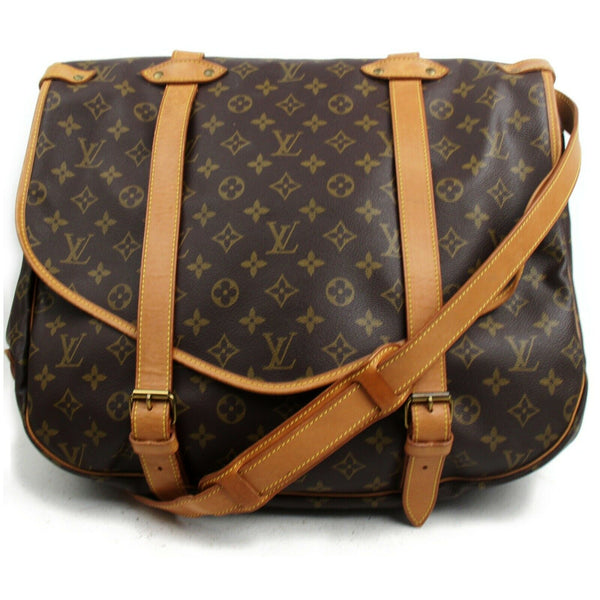Louis Vuitton Shoulder Bag Saumur 43 Brown Monogram (SHC7-10903)