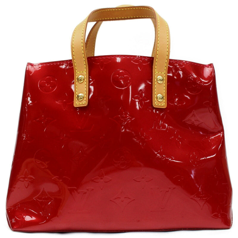 Louis Vuitton Tote Bag Reade Pm Red Vernis  (SHC7-10995)