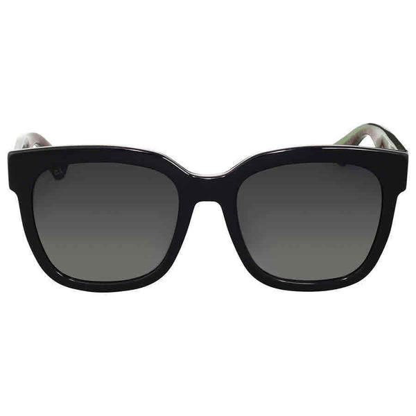 Gucci Grey Gradient Square Sunglasses GG0034S00254