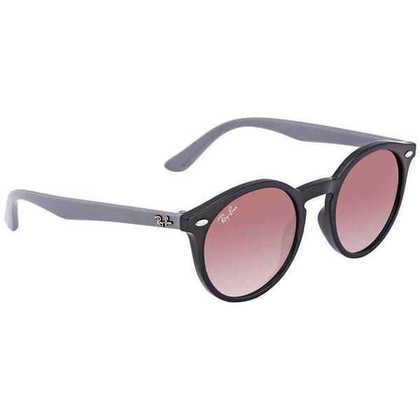 Ray Ban Junior Blue Violet Shaded Round Sunglasses RJ9064S 7043I8 44