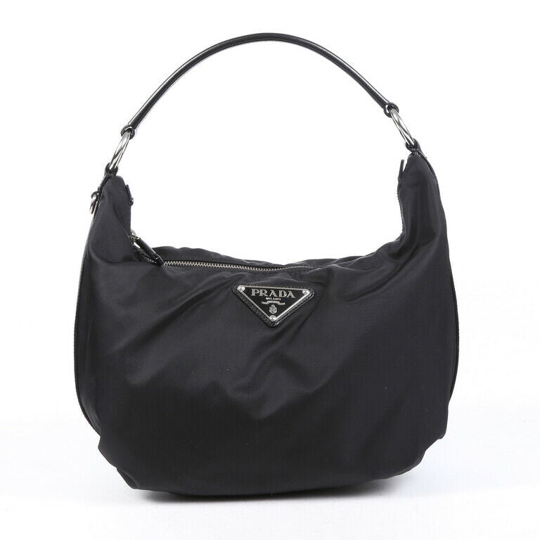 Prada Bag Black Tessuto Ball Nylon