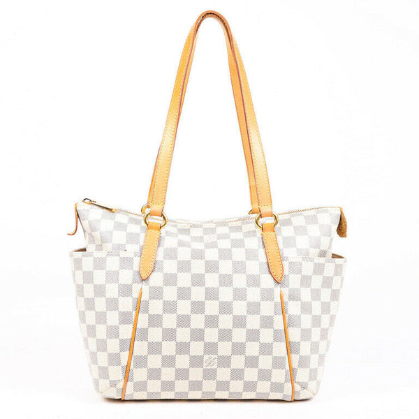 Louis Vuitton Bag Totally PM Damier Azur Coated Canvas Tote