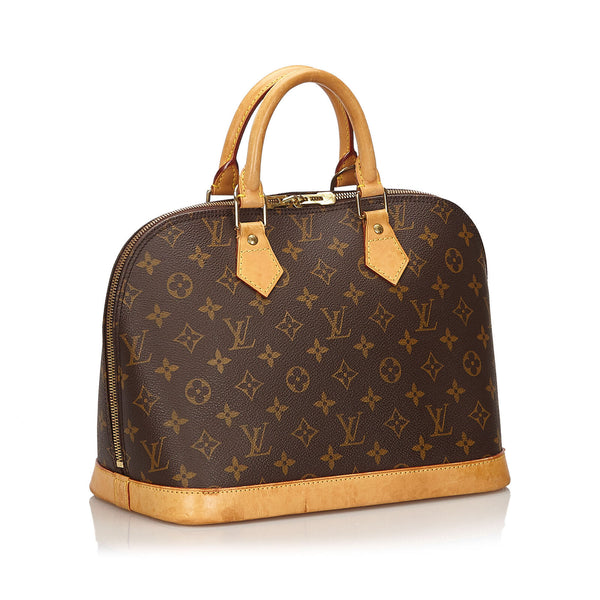 Pre-Loved Louis Vuitton Brown Monogram Canvas Alma PM France
