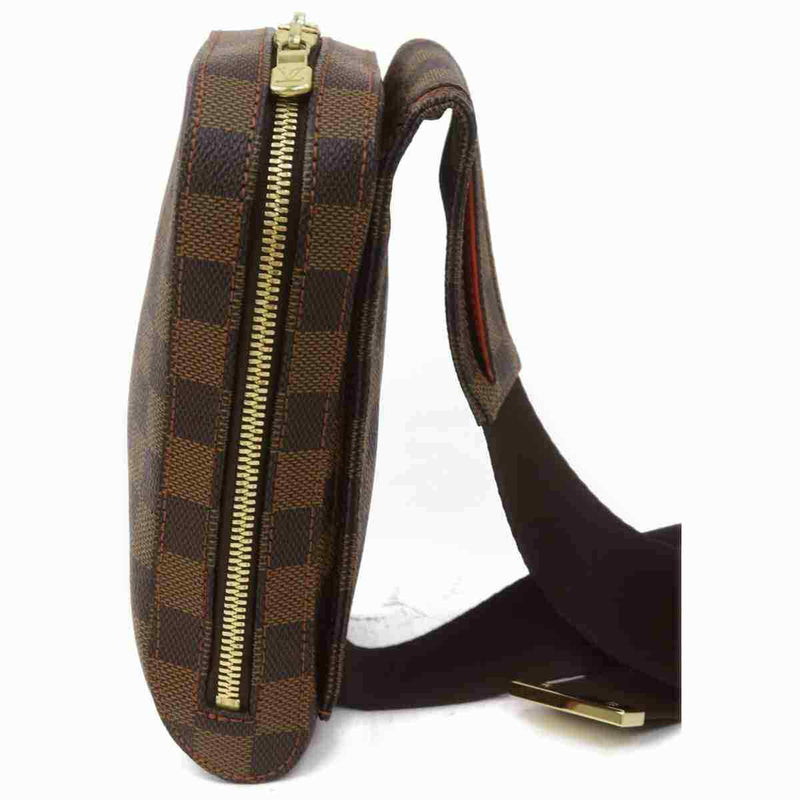Louis Vuitton Shoulder Bag Geronimos Brown Damier  (SHC7-11095)