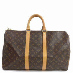 Louis Vuitton Boston Bag Keepall 45 Brown Monogram (SHC7-11011)