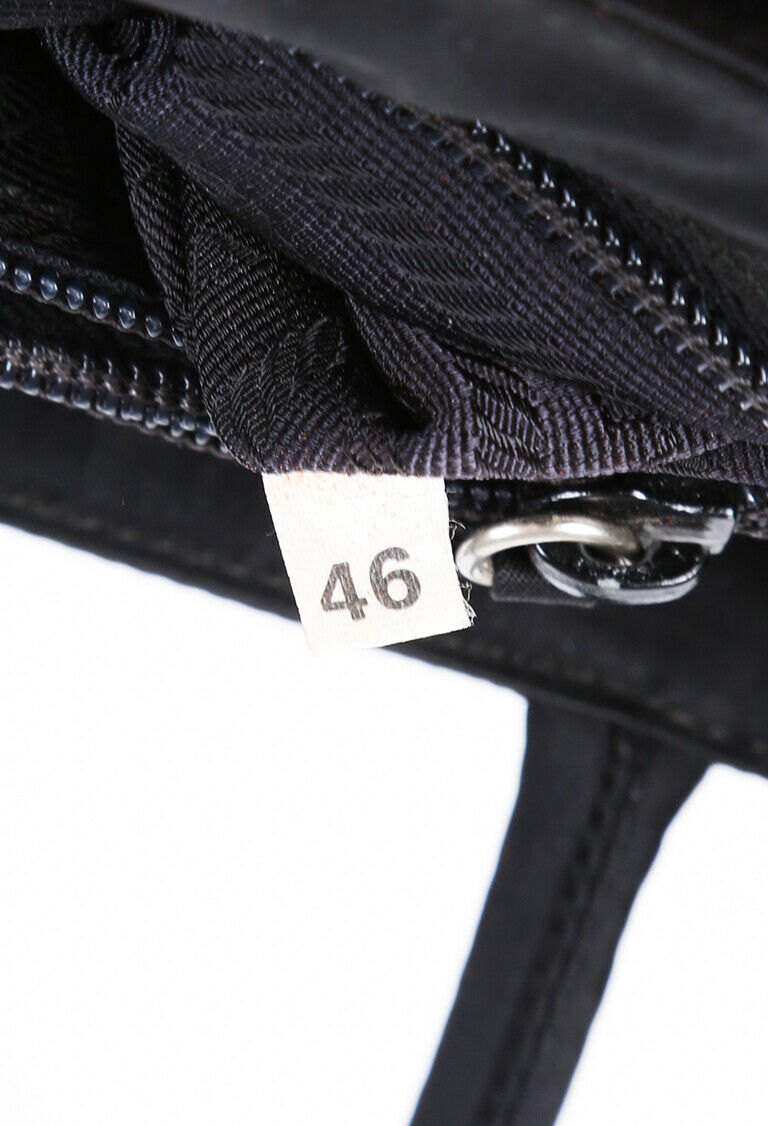 Prada Bag Black Nylon Logo