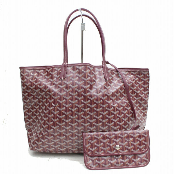 Goyard Tote Bag Saint Louis Pm Bordeaux PVC (SHC1-14663)