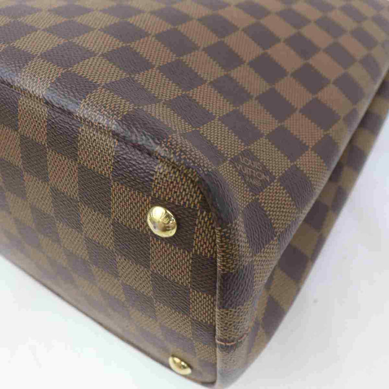 Louis Vuitton Hand Bag Kensington Brown Damier  (SHC7-11101)