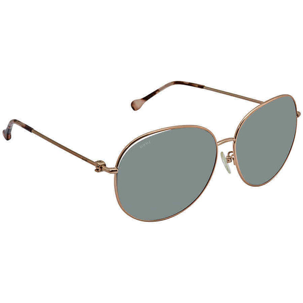 Loewe Grey Round Ladies Sunglasses SLW479G-0A39 SLW479G-0A39