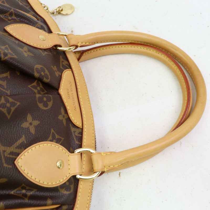 Louis Vuitton Hand Bag Tivoli Pm Brown Monogram  (SHC1-15740)