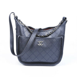 Chanel Medium Jungle Stroll Quilted Hobo Bag
