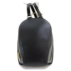 Louis Vuitton Back Pack Mabillon Black Epi  (SHC7-11066)