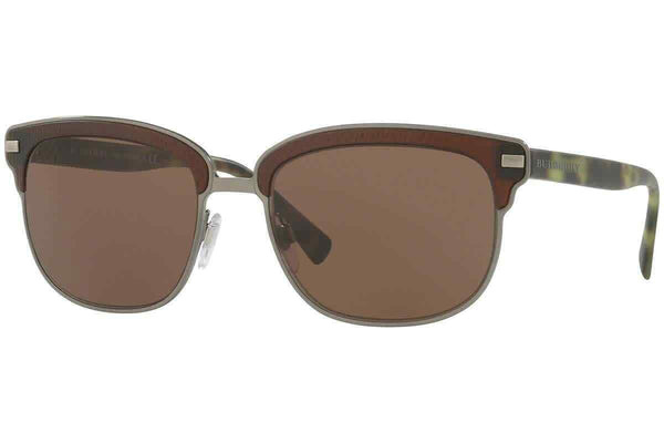 Burberry Brown Browline Men's Sunglasses BE4232-361973-56 BE4232-361973-56
