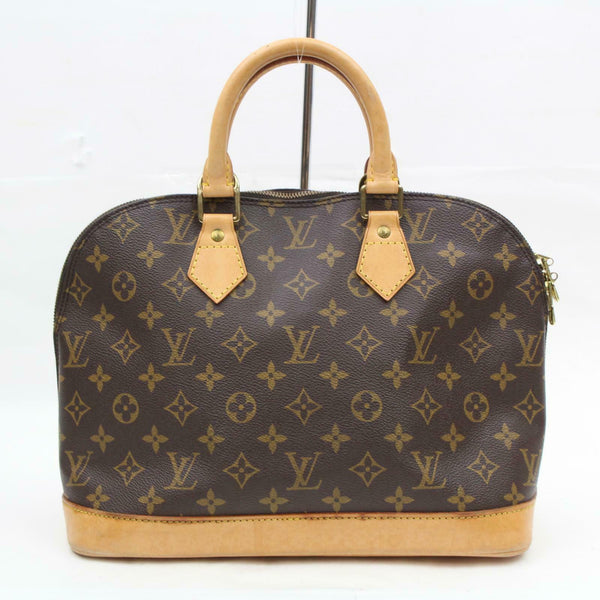 Louis Vuitton Hand Bag Alma Brown Monogram  (SHC7-10832)