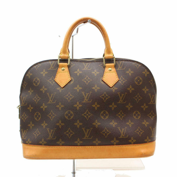 Louis Vuitton Hand Bag Alma Brown Monogram  (SHC7-10915)