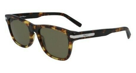 Salvatore Ferragamo Square Men's Sunglasses SF936S 54 DARK TORTOISE