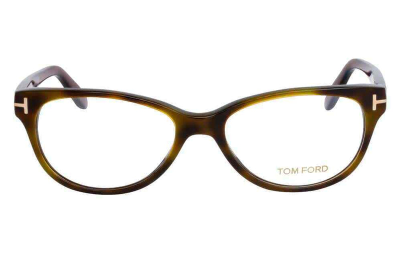 Tom Ford Clear demo lenses Ladies Eyeglasses FT5292 052 53 FT5292 052 53
