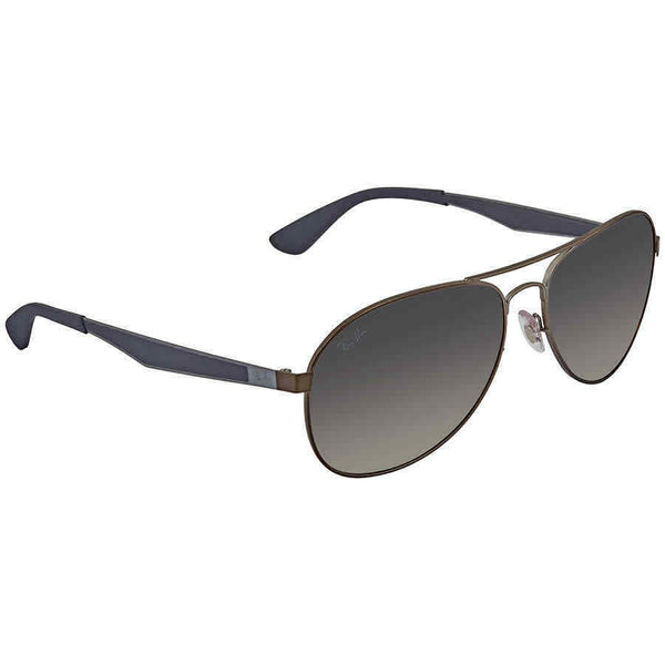 RayBan RB3549 Grey Gradient Pilot Sunglasses RB3549 029/11 61 RB3549 029/11 61