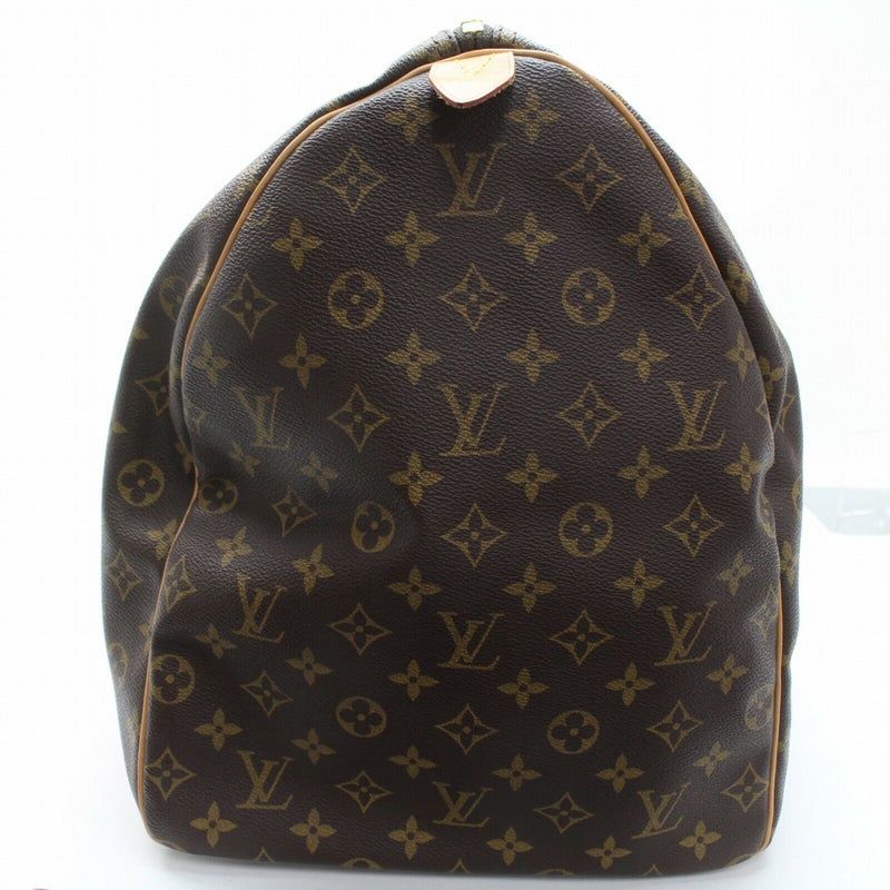 Louis Vuitton Boston Bag Keepall 60 Brown Monogram (SHC7-10944)