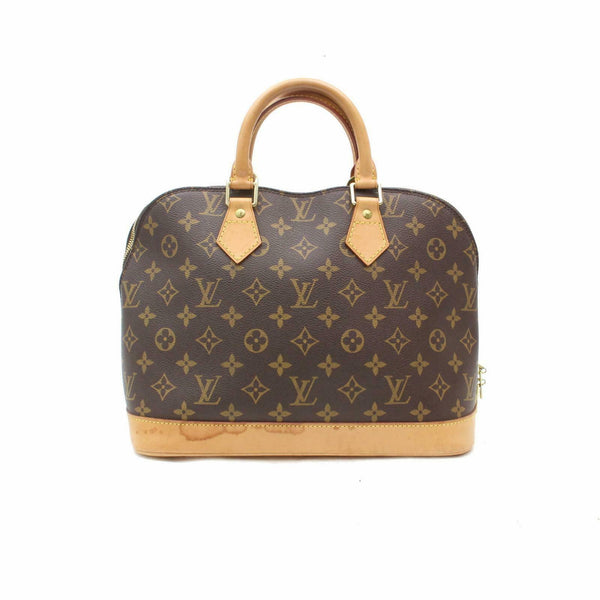 Louis Vuitton Hand Bag Alma Brown Monogram  (SHC7-10775)