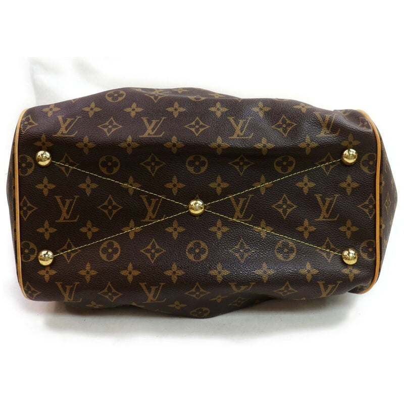 Louis Vuitton Hand Bag Tivoli Gm Brown Monogram  (SHC7-10914)