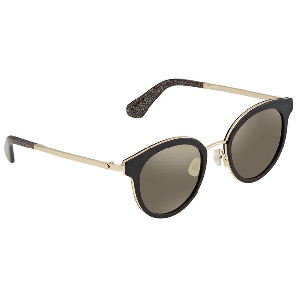 Kate Spade Grey Ivory Oval Ladies Sunglasses Lisanne / F / S807ue 50