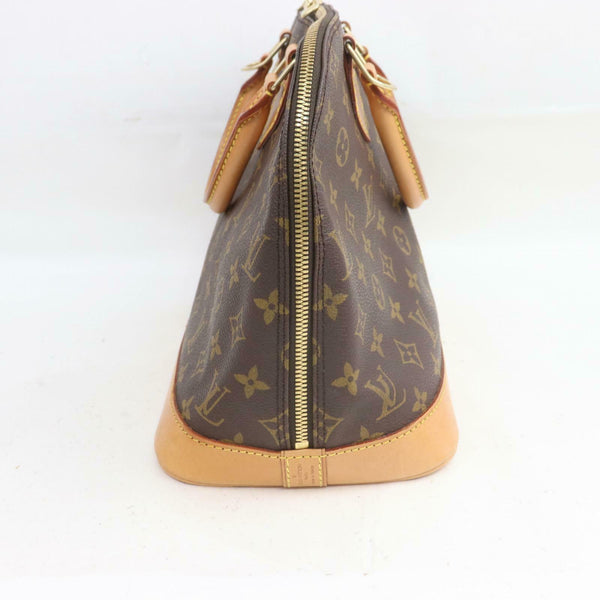 Louis Vuitton Hand Bag Alma M51130 Brown Monogram