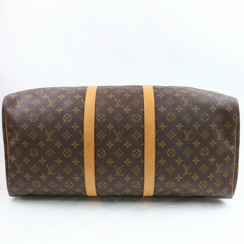 Louis Vuitton Boston Bag Keepall 55 M41424 Brown Monogram