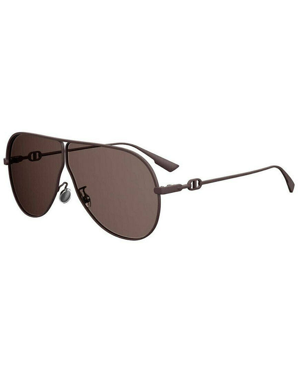 Dior Brown Aviator Ladies Sunglasses DIORCAMPS 0YZ4 66 DIORCAMPS 0YZ4 66