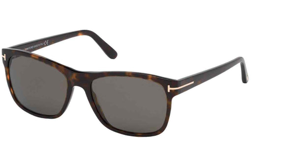 Tom Ford Polarized Smoke Geometric Men's Sunglasses Ft0698-f52d59 FT0698-F52D59