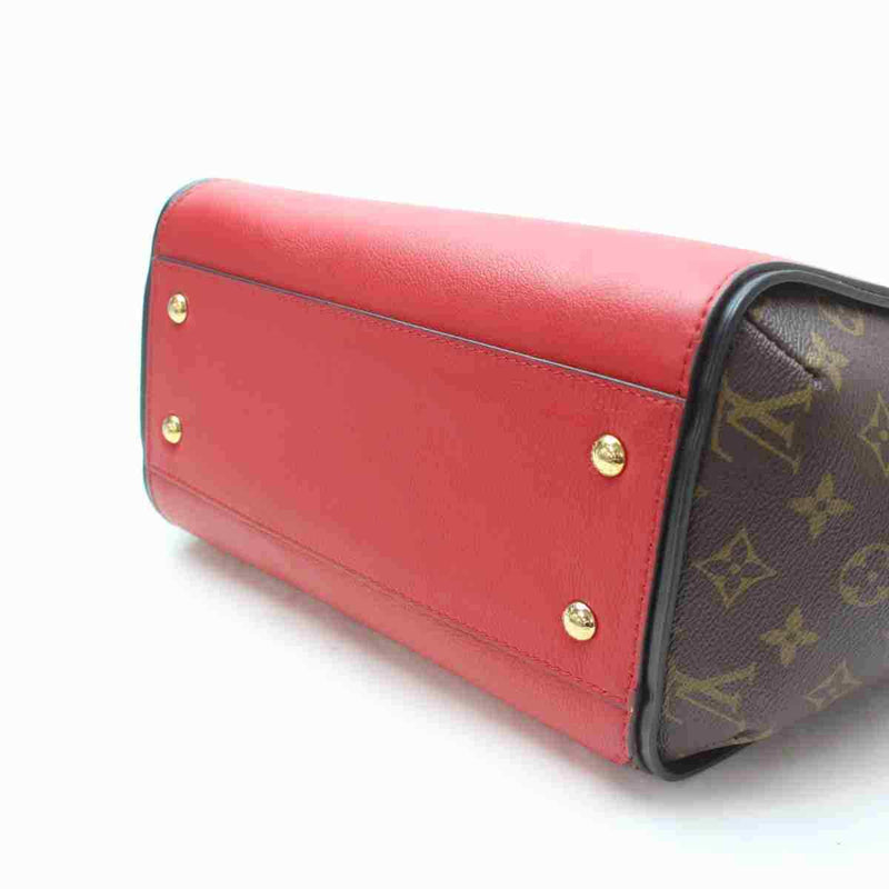 Louis Vuitton Tote Bag Kimono Red Monogram  (SHC7-11105)