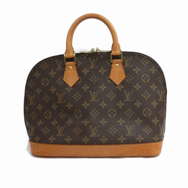 Louis Vuitton Hand Bag Alma Brown Monogram  (SHC1-16061)