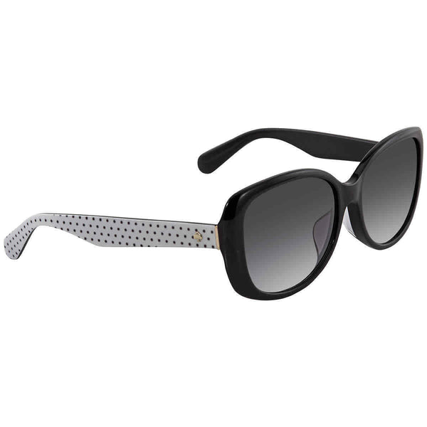 Kate Spade Dark Gray Gradient Rectangular Ladies Sunglasses Amberlyn / F /