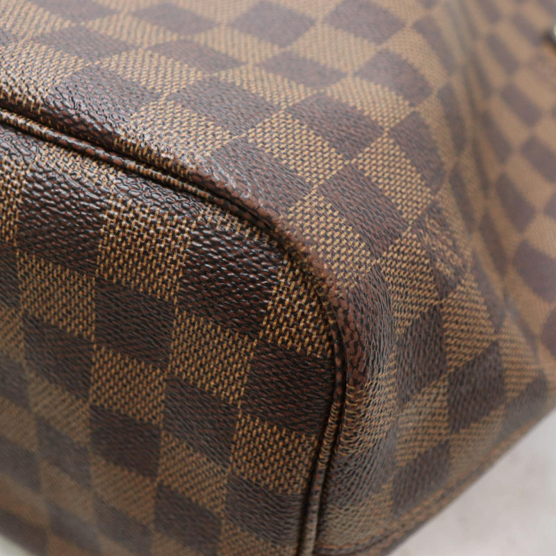 Louis Vuitton Tote Bag Neverfull Mm Brown Damier  (SHC7-10933)