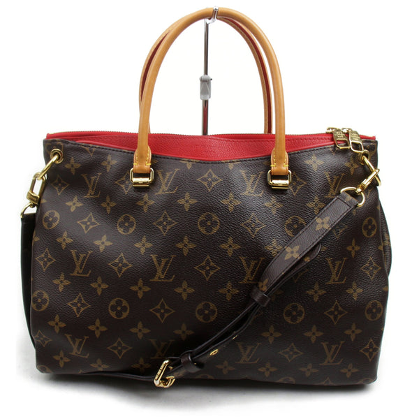 Louis Vuitton Hand Bag Pallas Bb Brown Monogram  (SHC7-11010)