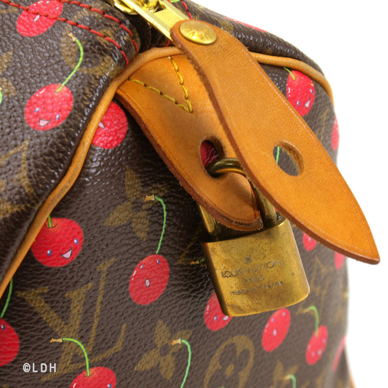 Louis Vuitton Cherry Speedy 25 (Authentic Pre Owned)