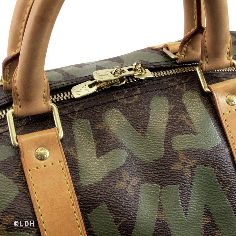Louis Vuitton Graffiti  Keepall 50 (Authentic Pre Owned)