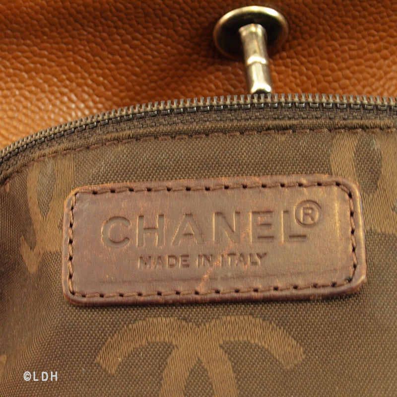 Chanel Brown Tote (Authentic Pre Owned)