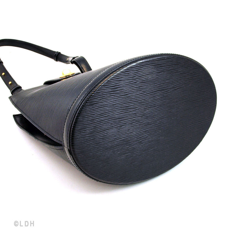 Louis Vuitton Black Epi Cluny (Authentic Pre Owned)