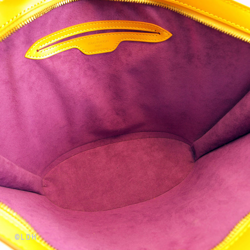 Louis Vuitton Yellow Epi St. Jacques (Authentic Pre Owned)