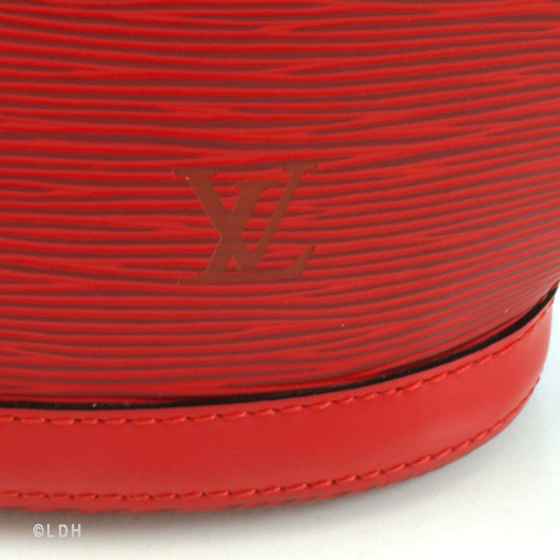 Louis Vuitton Red Epi St. Jacques (Authentic Pre Owned)