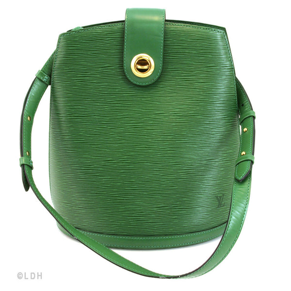 Louis Vuitton Green Epi Cluny (Authentic Pre Owned) - 148713  0799ff3acb0fe