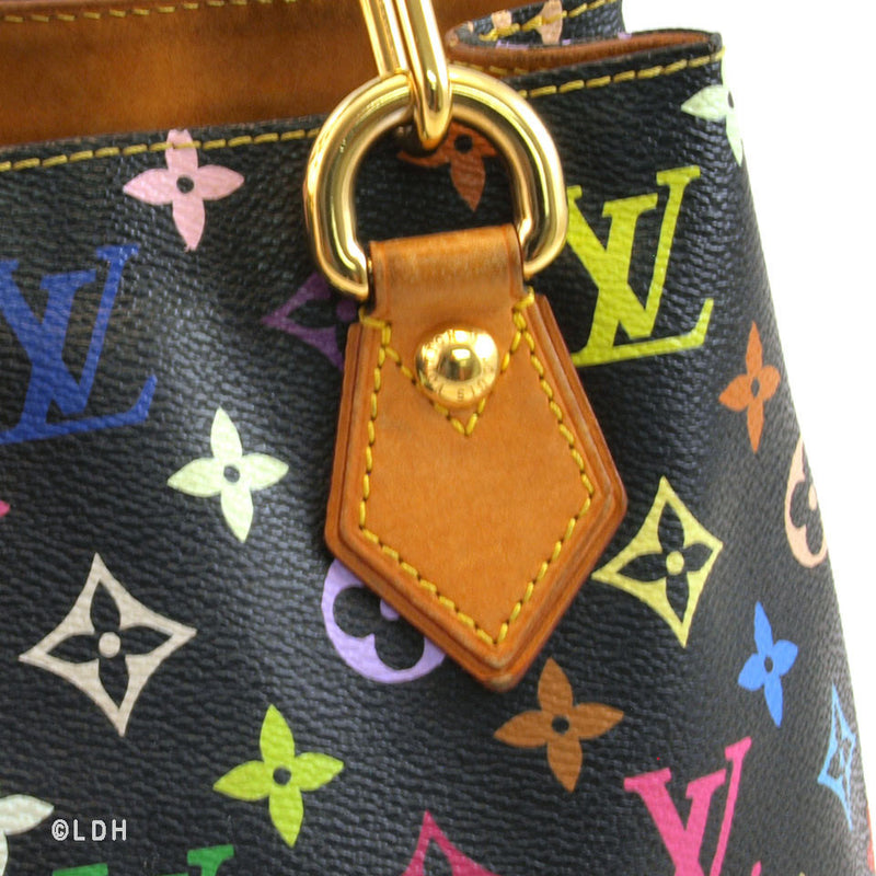 Louis Vuitton Multicolored Black Audra (Authentic Pre Owned)