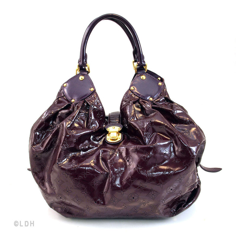 Louis Vuitton Mahina L Anthracite (Authentic Pre Owned)