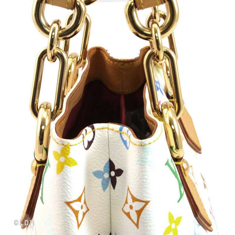 Louis Vuitton Multicolore White Audra (Authentic Pre Owned)