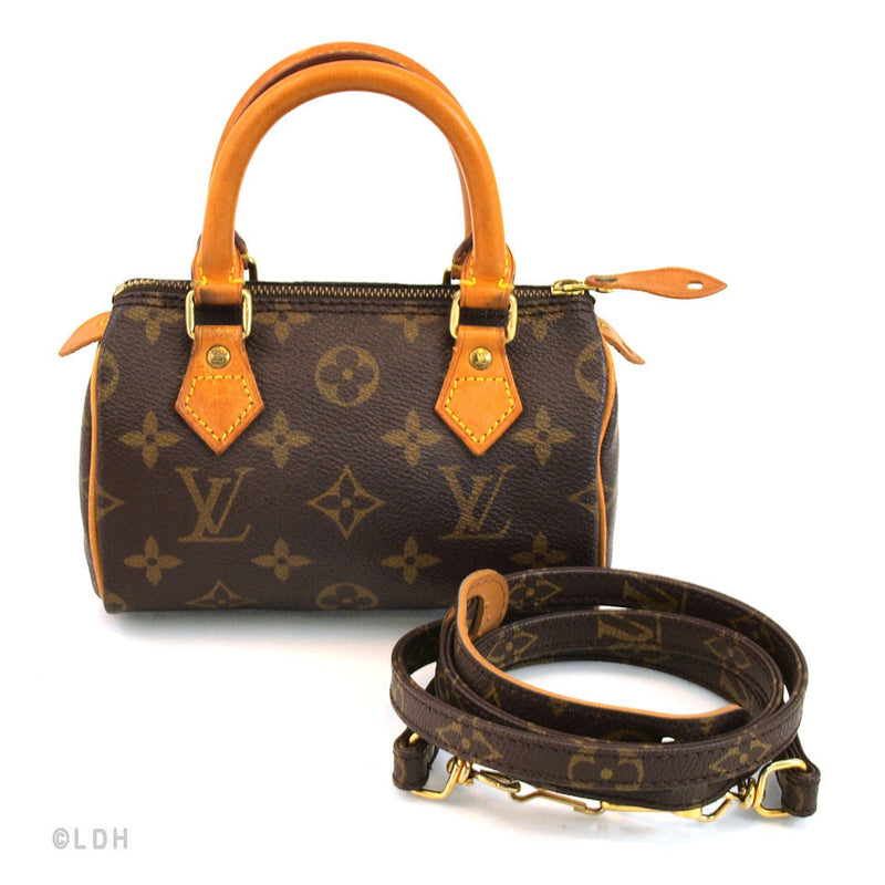 Louis Vuitton Mini Sac With Strap ( Authentic Pre Owned)