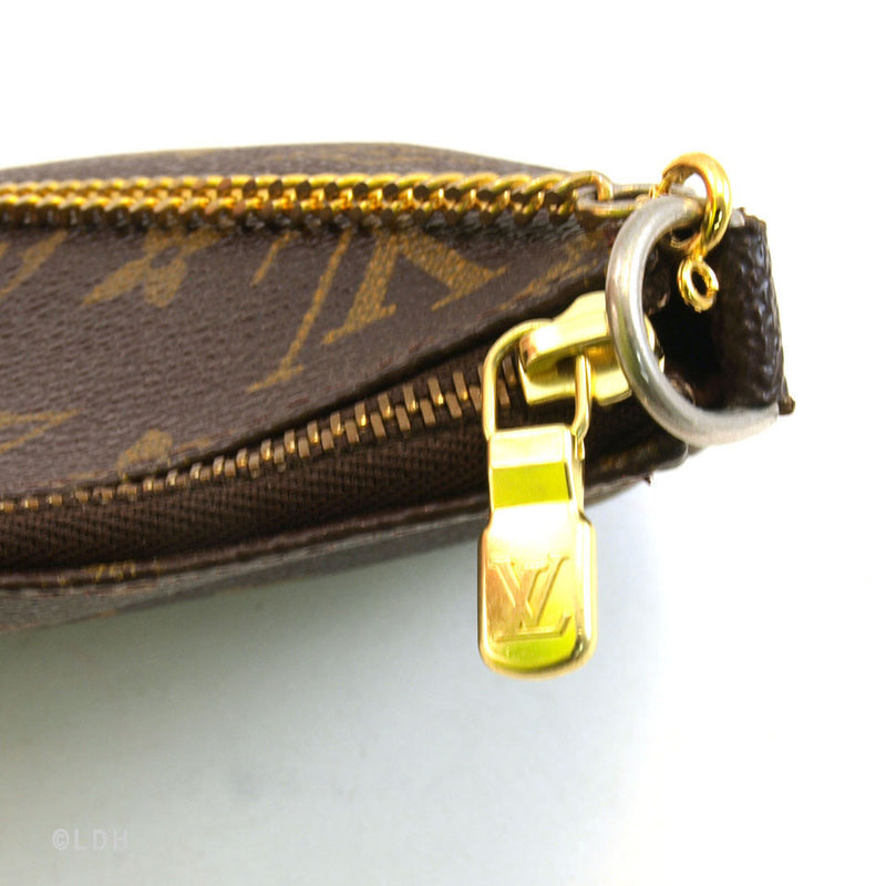 Louis Vuitton Monogram Chain Pochette (Authentic Pre Owned)