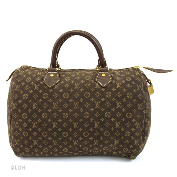 Louis Vuitton Mini Lin Speedy 30 (Authentic Pre Owned)