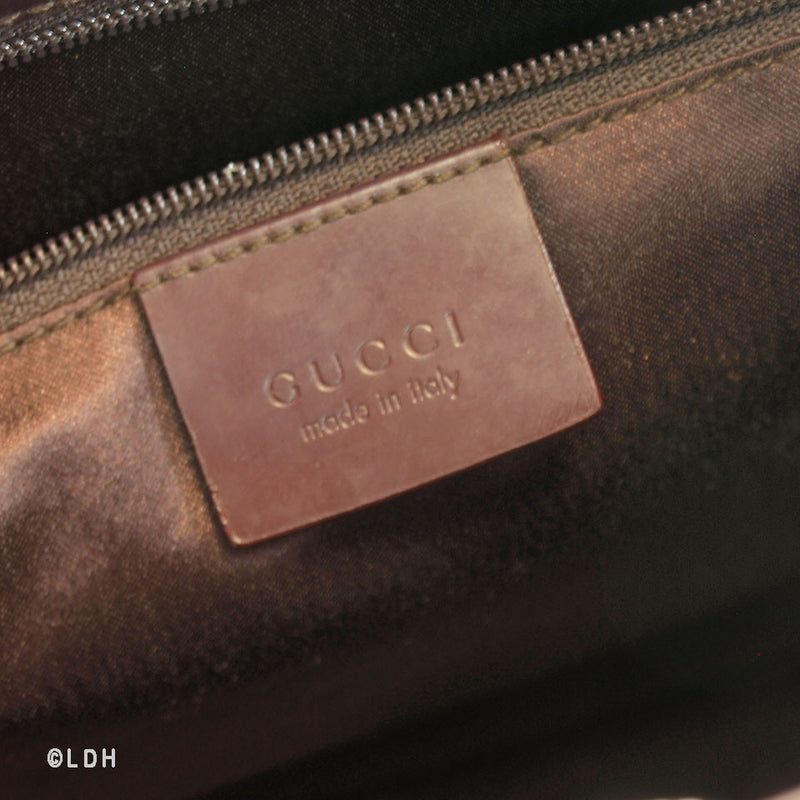 Gucci Shoulder Bag Satin (Authentic Pre Owned)